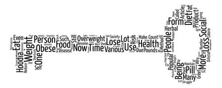 shortcuts: No Shortcuts to Health and Weight Loss Word Cloud Concept Text Background