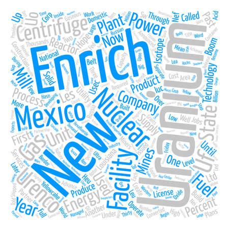 ニュー メキシコ結合原子力ルネッサンス本文背景単語雲の概念