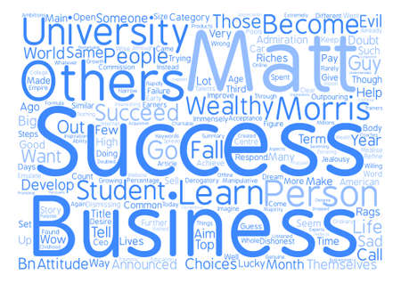immensely: Success word cloud Illustration