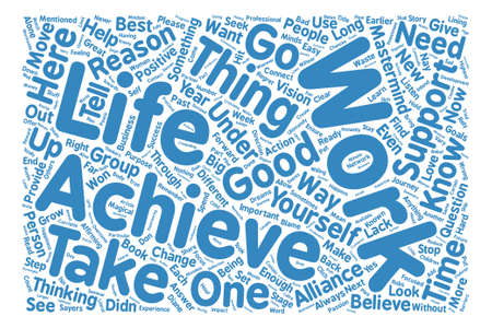 Reasons To Under Achieve Part Reasons Word Cloud Concept Text Background