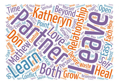 Relationships Too Easy To Leave text background word cloud concept