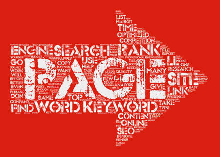 SEO in a BOX text background word cloud concept
