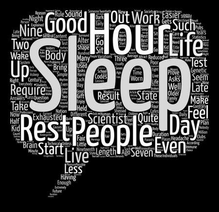 Sleep is the Best Therapy text background word cloud concept