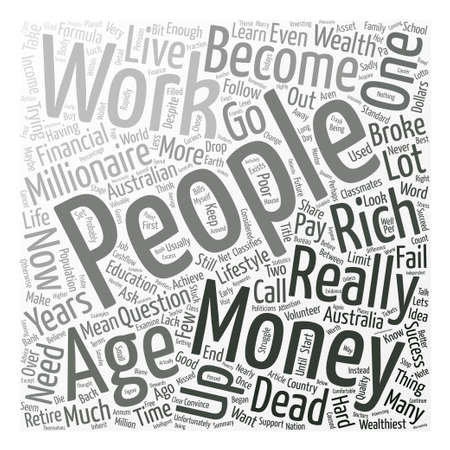 Second Life Is What You Make Of It Word Cloud Concept Text Background
