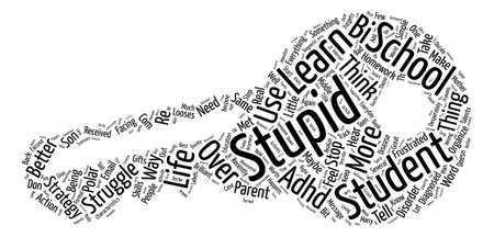 So You Think You re Stupid Maybe You Are text background wordcloud concept