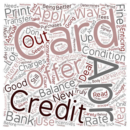 Apr Offers Are Not As Good As They Seem text background wordcloud concept Illustration