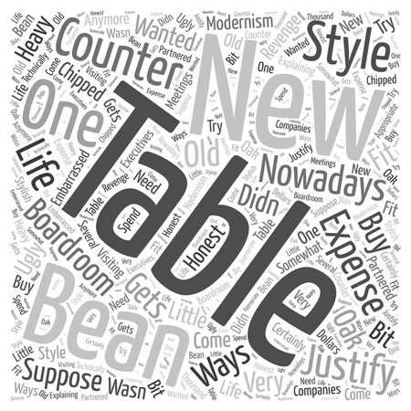 boardroom: boardroom tables Word Cloud Concept