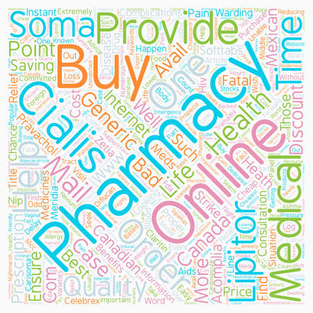 Benefits of 24X7 Pharmacy text background wordcloud concept Ilustrace