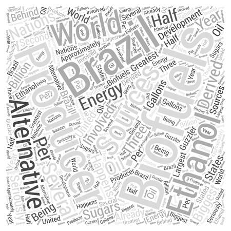 Biofuels as Alternative Sources of Energy Word Cloud Concept