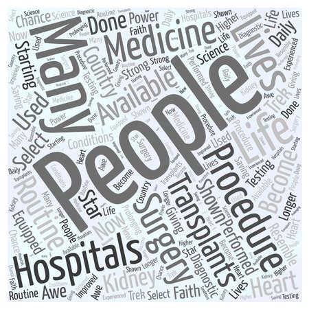 transplants: bone marrow transplant Word Cloud Concept