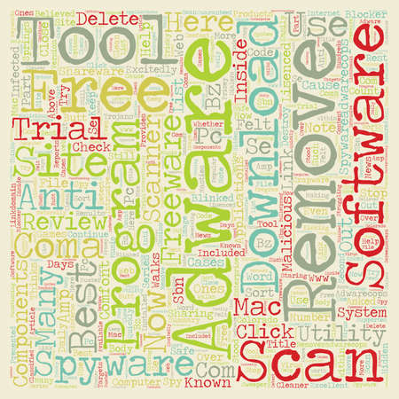 Best Free Adware And Spyware Removal Tool Downloads text background wordcloud concept