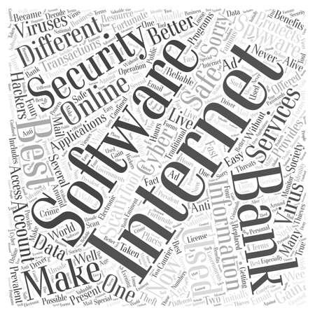 prevalent: best internet security software Word Cloud Concept