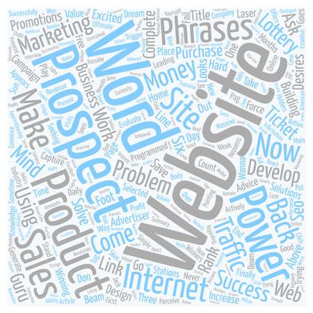Capture Your Prospects Now text background wordcloud concept