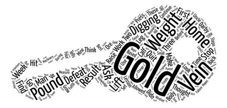 Don t Stop Short of The Gold Word Cloud Concept Text Background Illustration