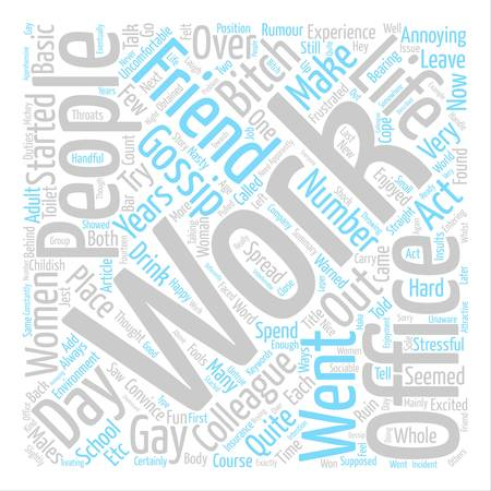 Word cloud concept.