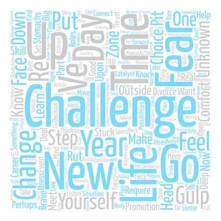 Gulp Get Off Your Butt This New Year text background word cloud concept