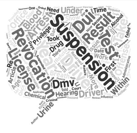 dui: DUI What You Need To Know Now text background word cloud concept