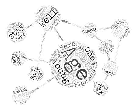 ここで若い単語を保つために s A 基本的な単純なプロセス クラウド コンセプト テキストの背景