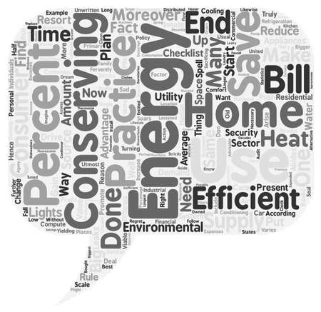 home energy ll text background wordcloud concept 일러스트
