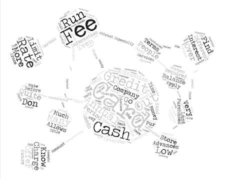 goods station: Must Know Credit Card Terms Before You Apply Word Cloud Concept Text Background Illustration