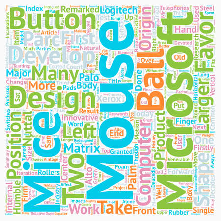 decades: Computer Mice And Their Origin In Our Telephones text background wordcloud concept