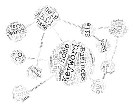 Different Keywords for Different Folks in Home Business text background word cloud concept