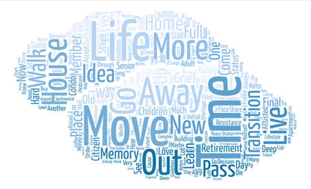 life move time Word Cloud Concept Text Background