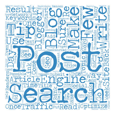 post search engine Word Cloud Concept Text Background