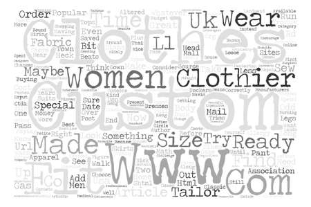 lady diana: Should Your Clothes Be Custom Made text background word cloud concept