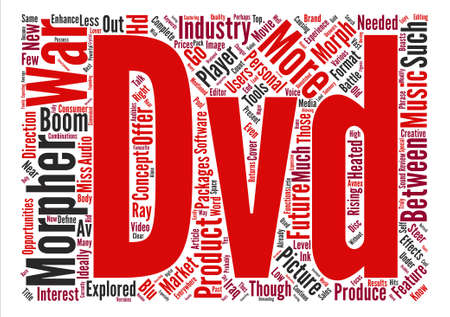 heated: Same old and brand new DVD talk Word Cloud Concept Text Background