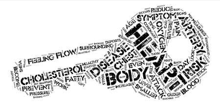 Symptomen En Voorkomende Maatregelen Van Hartziekte Tekst Achtergrond Woordconcept