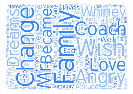 became: The Marriage Made In Heaven became Hell and back again Word Cloud Concept Text Background