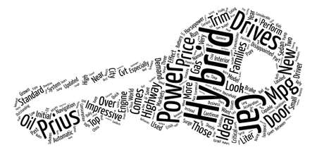 hybrid cars text background word cloud concept