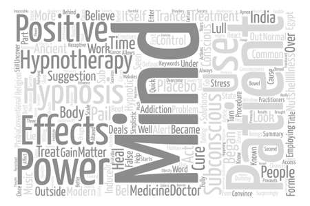 Is Hypnosis A Circus Act text background word cloud concept