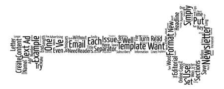 Email Newsletter Templates Text text background word cloud concept