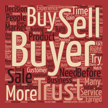 turn about: You Haven t Earned the Right to Sell to Me Word Cloud Concept Text Background