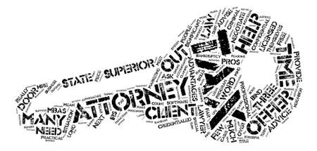 Three Reasons To Hire A Tax Attorney text background word cloud concept Illustration