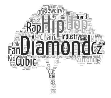 craze: Hip Hop Craze Word Cloud Concept Text Background Illustration