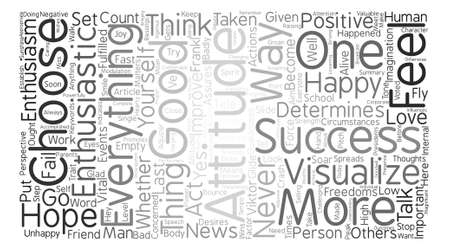 Ways To Improve Your Attitude text background word cloud concept