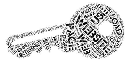 Simple Tips To Improve Your Website Design text background word cloud concept