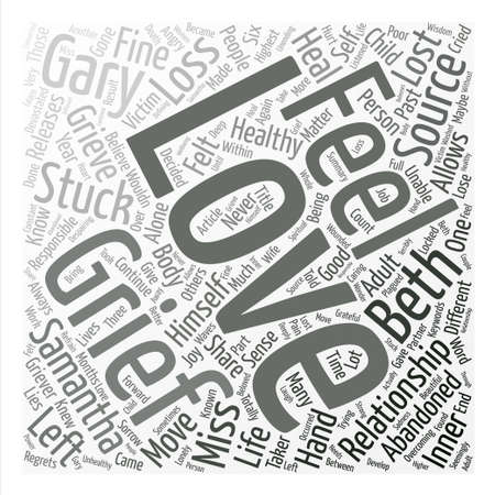 健康不健康な悲しみを悲しみ本文背景単語雲概念