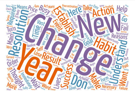 understandable: On Resolutions text background word cloud concept