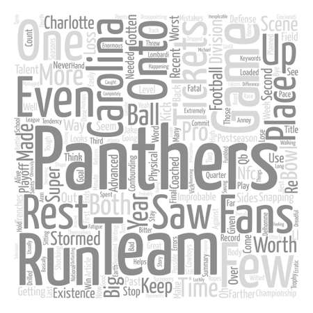 stormed: What Will Carolina Panthers Tickets Be Worth For The Rest Of text background word cloud concept