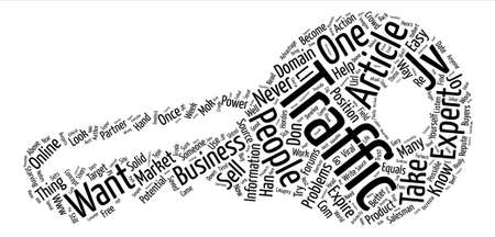 Things You Must Do If You Want To Increase Your Traffic text background word cloud concept