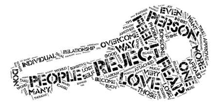 jilted: Love s Labour Lost text background word cloud concept