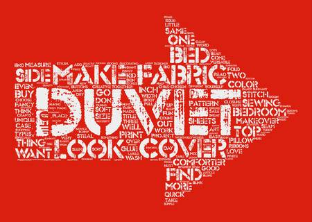 duvet: Duvet Covers For a Quick Bedroom Makeover text background word cloud concept