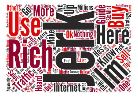 apparently: The Rich Jerk Or Just A Jerk text background word cloud concept