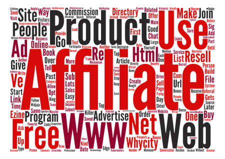 commissions: Killer Ways To Increase Your Affiliate Commissions text background word cloud concept
