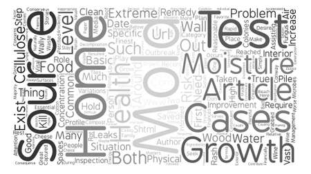 Is There a Fungus Among Us text background word cloud concept Illustration