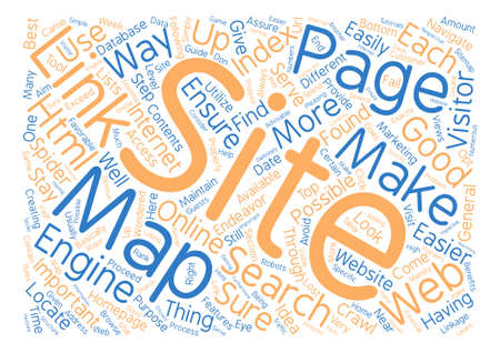 indexed: JP html site map text background word cloud concept